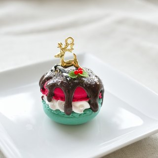 Sweet Dream ☆ ☆ Christmas elk Christmas Macaron / Bag Charm / keychain
