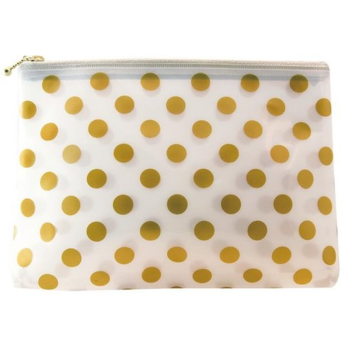 [Japanese] Neige LABCLIP Series pouch (M- zipper) / Gold
