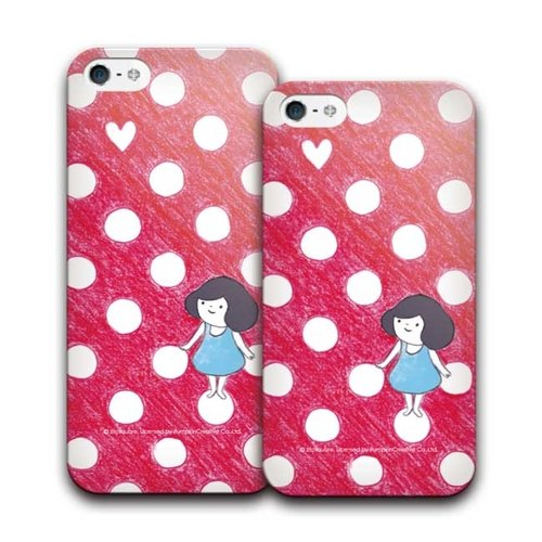 PIXOSTYLE iPhone 5 / 5S Style Case sinking hearts find 295