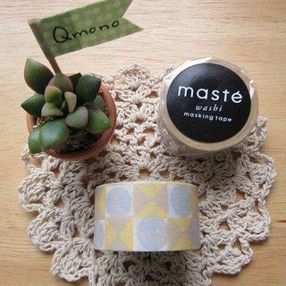 Maste Masking Tape and Paper Tape Multi [Box-Yellow (MST-MKT20-YE)]