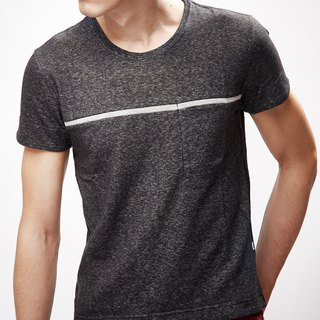 Men Short T-Shirt (Dark Grey)