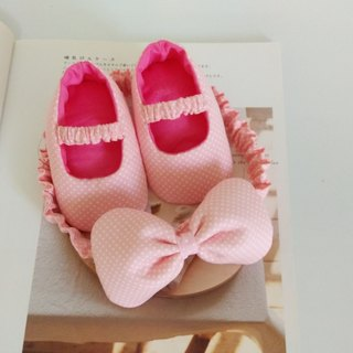 Foundation Shuiyu births gift baby shoes baby hair band +