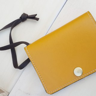 [5 - step] banana yellow (card holder Purse)