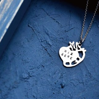 ▽-HEART-▽ Valentine's Necklace / Female Version  999 silver