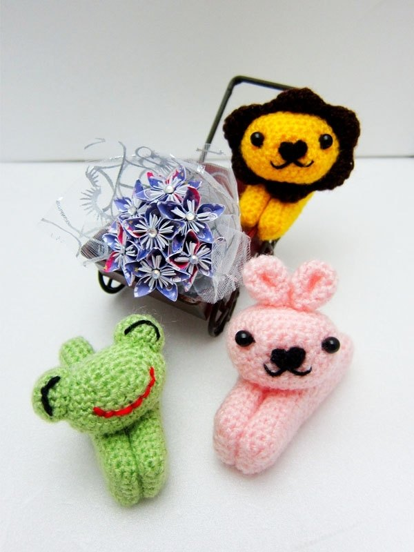 Cute animal clips (frogs, rabbits, lions)