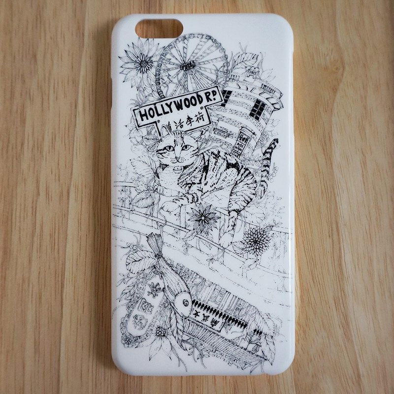 Draw On the Bed multiplicative DISENO iPhone 6 / 6s Plus Phone Case (Central section of Hong Kong)