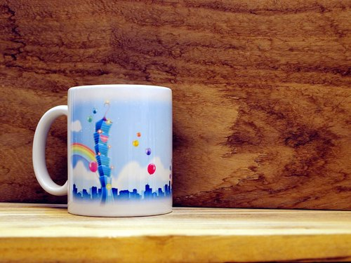 """TAIWAN VIEW‧ Landscape Series"" Taipei. Mug / straight cup (300ml)"