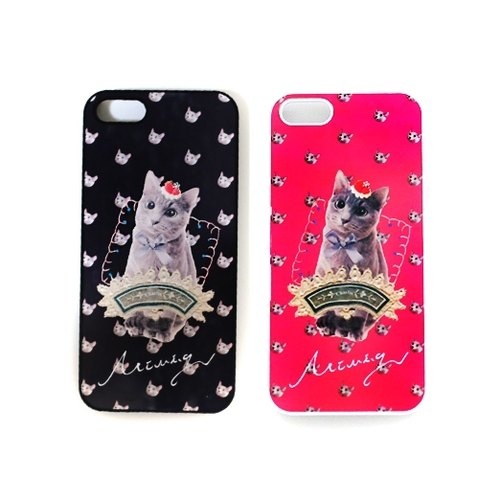 Amusement Park Theater of Blue Cat Prince Charlie phone shell iphone 4 / 4s / 5 / 5s / 6 / 6P / 6s / 6Ps solo section