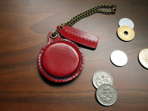 IPPI- travel card chip Charm -A paragraph (includes travel card or card) - burgundy leather / manual
