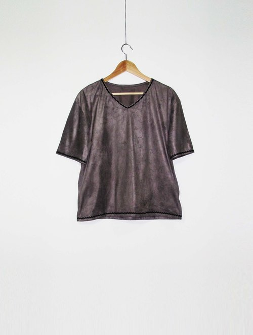 Wahr_ wave short-sleeved shirt