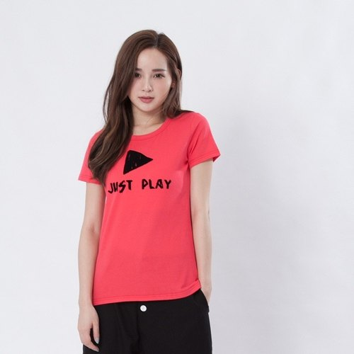 Just Play Peach Cotton T-shirt