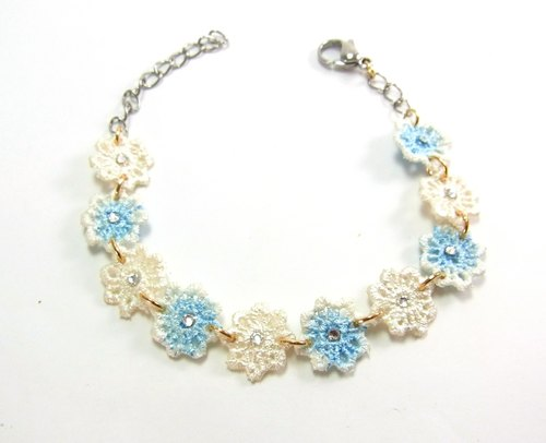 Blue lace bracelet Kelsang water