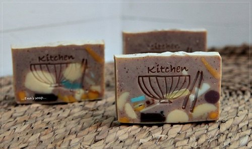 Family Fun tea seed soap by Nana Mom