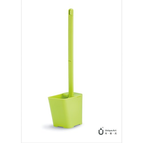 "Toilet Brush.Know dump style toilet set ""green shoots"""