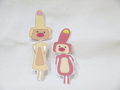 Waterproof stickers | middle sisters (sister)