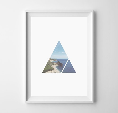 Geometry can be customized Hanging Poster