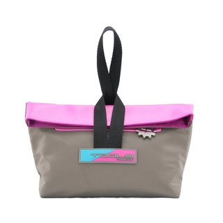 Tools Hand Tottour bag::Fashion::Dual-purpose::Convenience#Khaki Pink