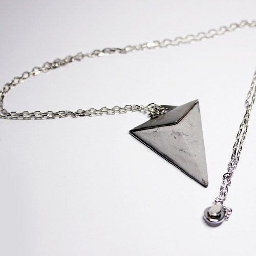 Mystery necklace (concrete color)