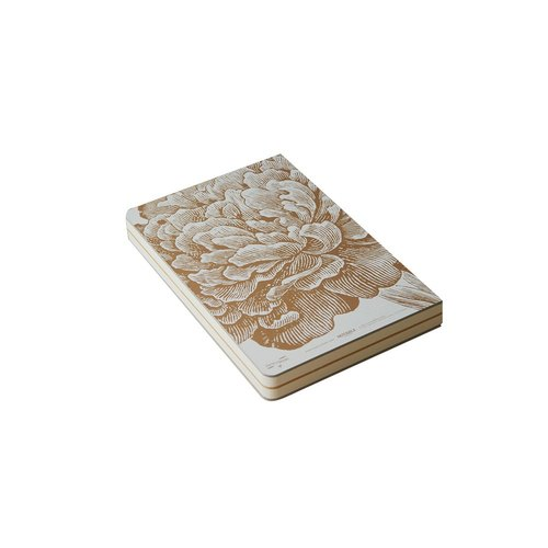 Nine original Golden Hill series 256page Indian gold Notebook - peony (2013 Edition)