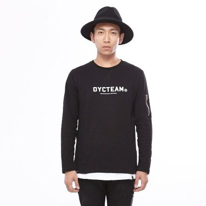 DYCTEAM long-sleeved T-shirt