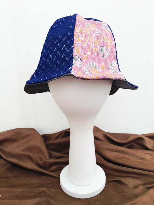 [Qucky] girl and sea / bud flowers cap