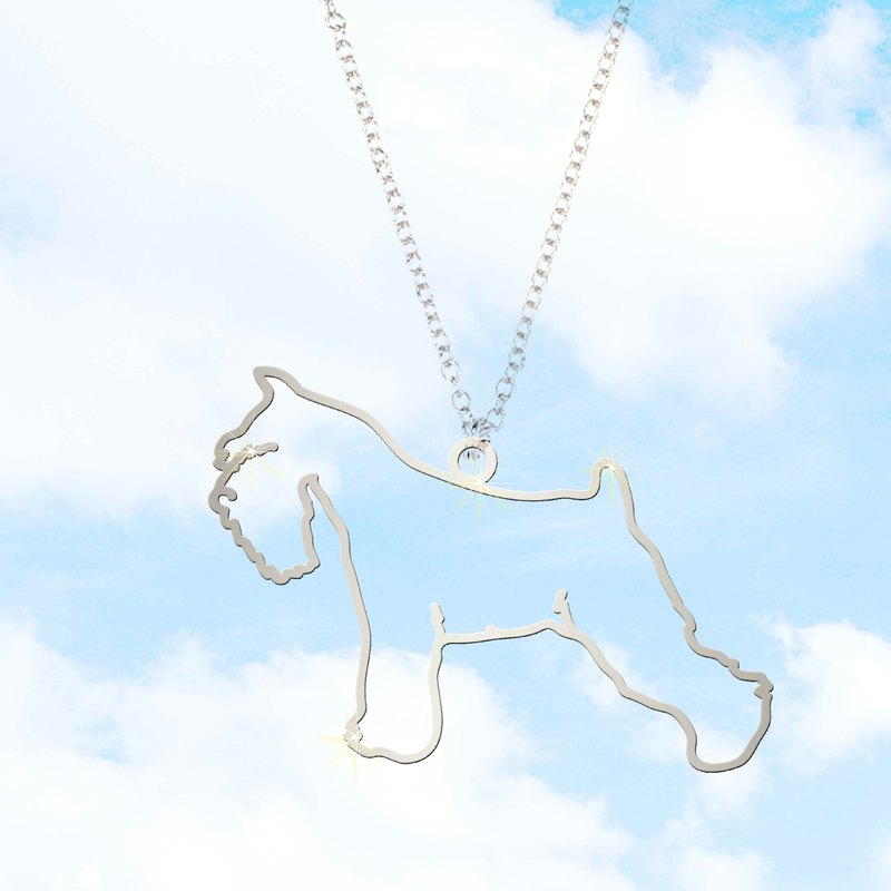 [ZOO'S 20%] dog necklace -S (box board)