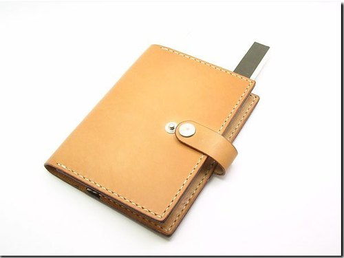 Hand-stitched leather ----- Passport Case
