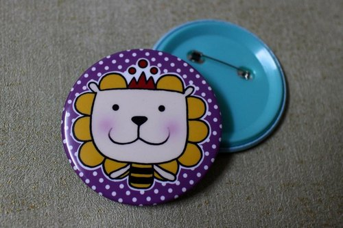Big badge (lion)