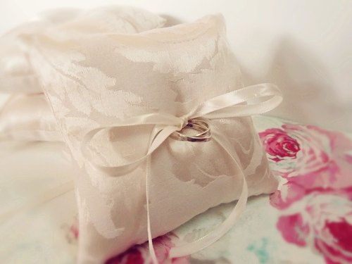 Must ~ minimalist aesthetic brilliant wedding ring pillow
