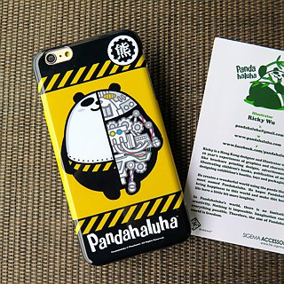 Sigema X Pandahaluha Case for iPhone 6 Plus / Mechanical Panda Phone Case