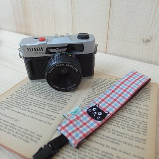 HiDots hand in hand cameras / Polaroid wrist strap (fresh Plaid * black)
