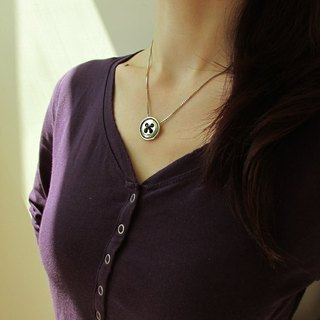 Mittag【NL345】yearing designer handmade silver necklace - with brand wood jewelry box...