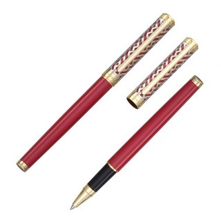 Creator Creator series (gift lettering) / pearl red ballpoint pen