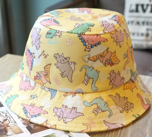 Fighting Fisherman's Hat - Jurassic / Little Yellow