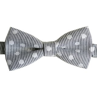 Little point stripe tie white point