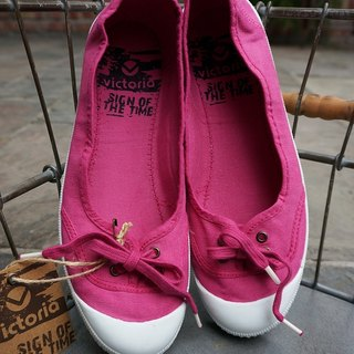 victoria Spanish nationals handmade shoes - pink FUSCIA (baby shoes)