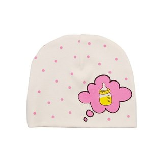 CLARECHEN baby hair cap // pink little bottle