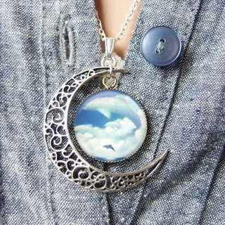 Dolphin Cloud - Necklace / Accessories / Birthday Gift [Special U Design]