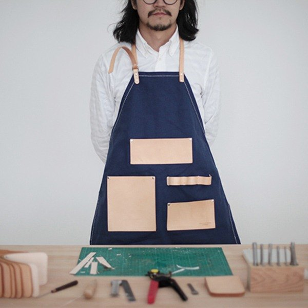 joydivision vintage aprons craftsmen hand produced retro trend fashion must-blue section
