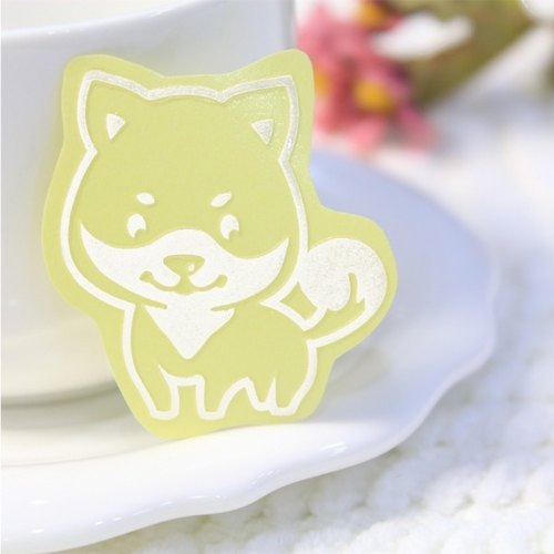 [Reflective pet stickers] adorable Shiba Inu dog. Phone Case sticker. Body sticker. Lovely hairy child .NINKYPUP