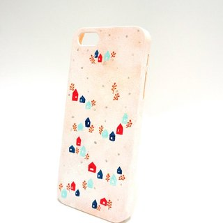 【Snow Forest Lodge - Hand painted Series】 iPhone Phone Case