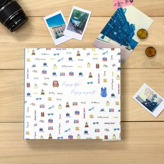 Boge stationery x taste life [12K hardcover memo album] loose-leaf style two designs