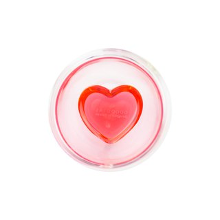 Heart-shaped double glass 240ml