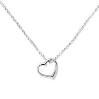 Pure love sterling silver necklace