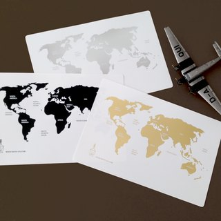 Globetrotting - Postcard