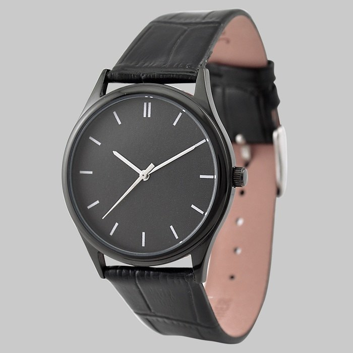 Mysterious Black watch (White)