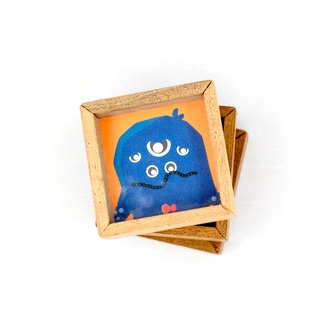 Silent Monster small wooden toys