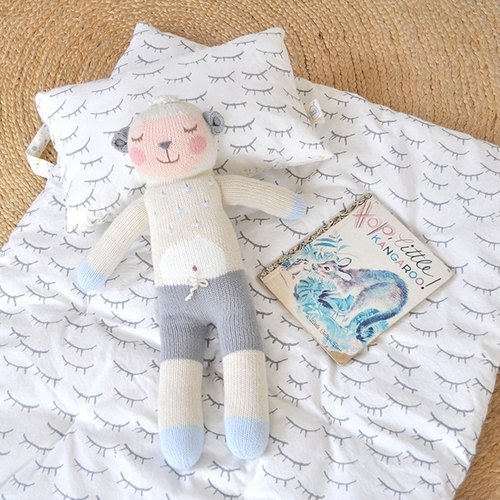 United States Blabla Kids | Cotton Knitted Doll (Small only) - Shy 咩 咩 Sheep B21052730