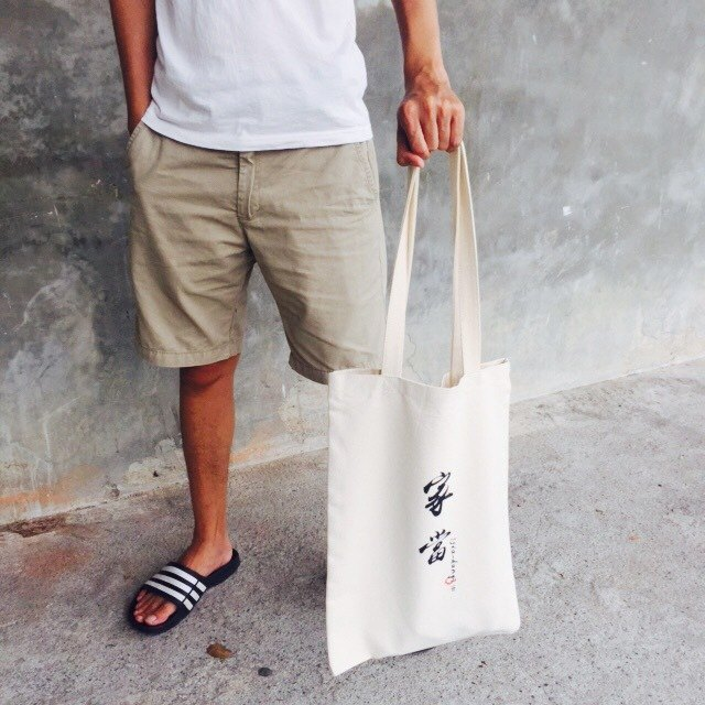 Belongings / tote bag / canvas bag /