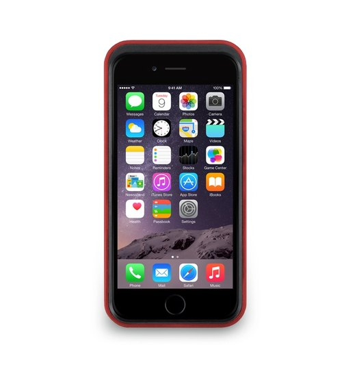 iPhone 6 -The Trim Series - Vertical protective frame may hit the color - red treasure